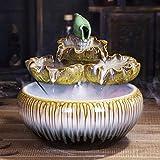 NYKK Fuente de Escritorio Regalos de cerámica de apilamiento Fuente de Mesa y...