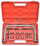 CNWOOAIVE Compressore Molla Valvola, Kit di Installazione Set di Utensili Automatici per Moto Furgoni per Auto