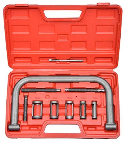 CNWOOAIVE Válvula del Motor Compresor de Resorte, Kit de Instalación de Extracción para Moto Coche Van Bicicleta