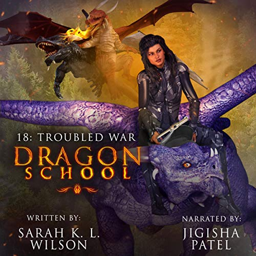 Dragon School: Troubled War  By  cover art