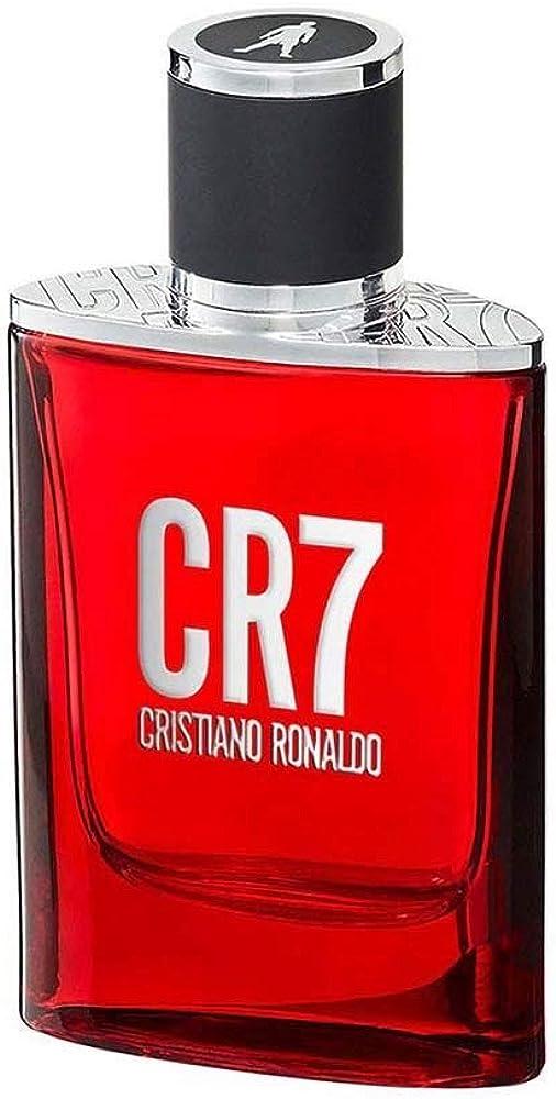Cristiano ronaldo cr7,eau de toilette per uomo, 30 ml 10005064