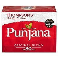 1パックトンプソンPunjanaティーバッグ80 (x 2) - Thompsons Punjana Tea Bags 80 per pack (Pack of 2) [並行輸入品]