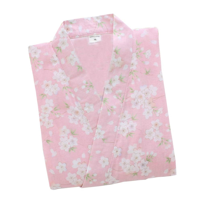 レディース 浴衣地 和柄 ルームウェア レディースパジャマ 肌触り良い 寝間着 寝巻き 桜の花柄 可愛い浴衣き 半袖 上下セット