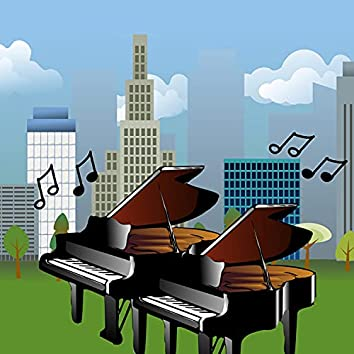 A Jazzy Day (Piano Duo)