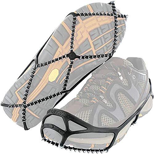 HXDY Tragbare Eisenkette, rutschfeste Schuhabdeckung, Steigeisen, Schneekette Für Das Klettern Im Freien, rutschfeste Schuhspitzen 36-39 Yards