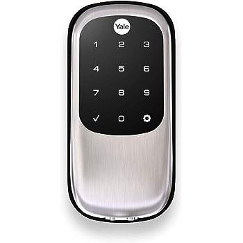 Yale Real Living Key Free Touchscreen Deadbolt in Satin Nickel (YRD240-NR-619)
