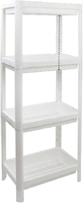 Ruhua Shelving Kitchen Multipurpose 4-Shelf Storage Shelf White US 2 Shelves