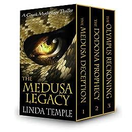 The Medusa Legacy Box Set: A Greek Mythology thriller by [Linda Temple]