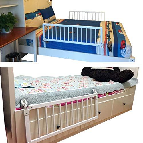 QDY-Bedside Handrails Bettgitter, Bettgitter für Kleinkinder Verstellbare Sicherheitsschiene für Seniorenbetten und Haltegriff für Stehhilfen am Bett mit einem Klappschlüssel L7D-317