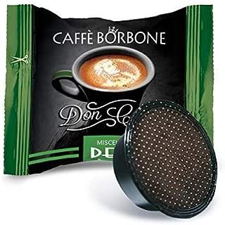 Caffe Borbone 50 Capsule, Caffe' BORBONE miscela Dek Decaffeinato - Compatibile Don Carlo