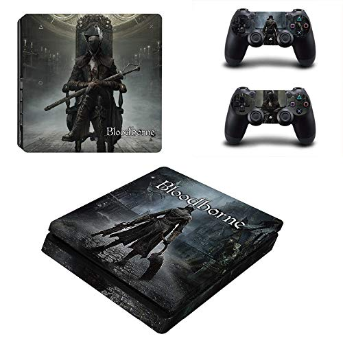 YISHO PS4 Slim Skin Sticker for Playstation 4 Console and Controller Decal PS4 Slim Sticker Vinyl (YSP4S-1067)