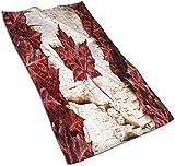 Toallas de Mano, Bandera de Panamá, Estampado de patrón Toalla de baño Suave Altamente Absorbente para baño, Hotel, Gimnasio y SPA-Color 18-27.5 * 15.7 '