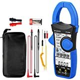 Digital Clamp Meter,INFURIDER YF-870P Auto-Ranging 9999 Counts Power Clamp Multimeter AC DC Volt Amp Clamp on Meter with Active Power,Apparent Power and Reactive Power Tester