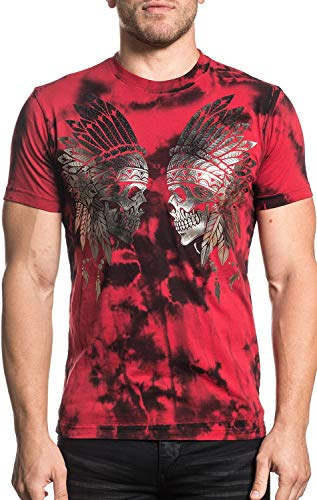 Xtreme Couture Eye For An Eye Short Sleeve Graphic Fashion UFC MMA T-shirt Top For Men By Affliction