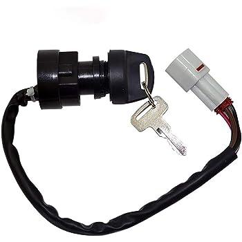 Premium Ignition Key Switch For YAMAHA GRIZZLY 600 YFM600 1998 1999 2000 2001 ATV