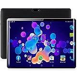 Tablet de 10,1 pulgadas, Android 9.0, teléfono tableta, con 2 GB de RAM, 32 GB de ROM, 3 G, Dual SIM, Dual SIM, Micro USB, dos cámaras, gran batería de 5000 mAh, Bluetooth, WiFi, delgada y ligera