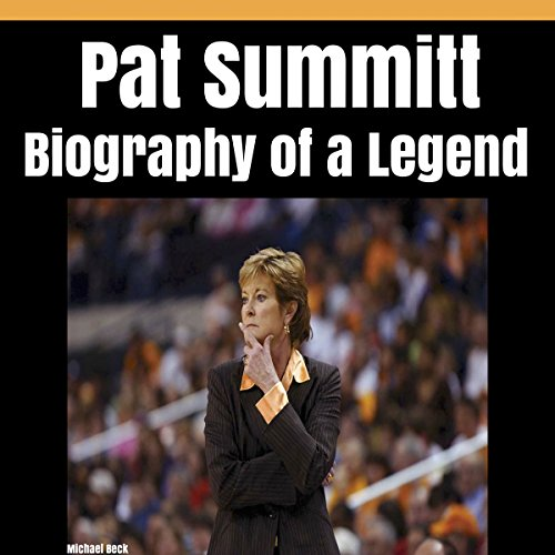 Pat Summitt audiobook cover art