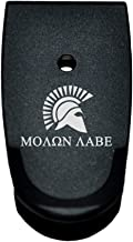 BASTION Extended Magazine Base Plate, Butt Plate for Smith & Wesson M&P 9/40 Shield - Molon Labe