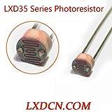 Fotoresistore LXD3526/Resistenza all'oscuro: 1Mohm/Resistenza alla luce: 10-20Kohm LDR 3mm Series Resistenza dipendente dalla luce (20)
