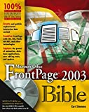 Microsoft Office FrontPage 2003 Bible