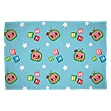 CoComelon Friends Official Fleece Throw | Friends Design Super Soft Blanket | Perfect For Any Bedroom