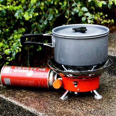 KPS Outdoor Portable Windproof Camping Stove, KPS Picnic Stove,Travel Stove,Travel Gas Stove for Cooking