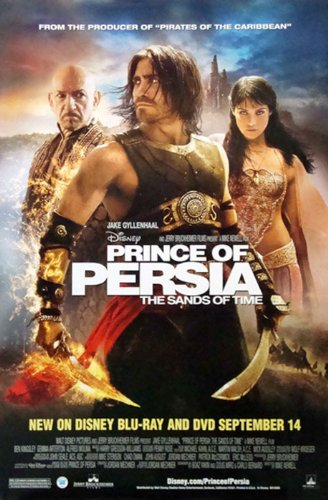 """Prince of Persia: The Sands of Time Movie Poster 27"""" X 40"""" (Approx.)"""