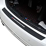 Charminghorse 2018 New Performance Rubber Car Rear Bumper Trim Rear Guard Plate Protector Sticker for BMW e39 e46 e90 f30 f10 f01 f20 f32 f33
