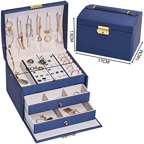 GYJYEG Jewelry Packaging Large special price PU Leather Box CapacityCom Display Oakland Mall High