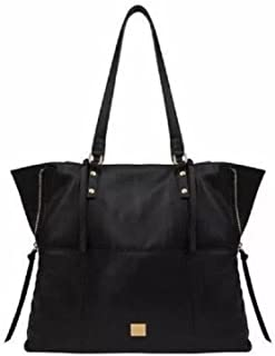 Leather Tote - Front Pocket with Magnetic Closure by KOOBA