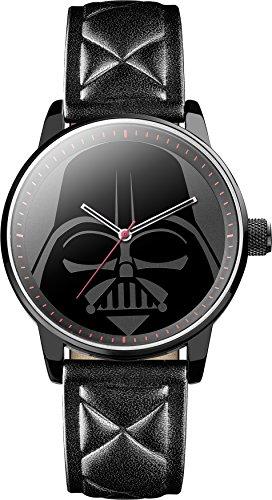 Star Wars STAR298 - Reloj de Pulsera Hombre, Color Negro