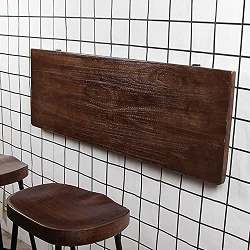 AQAQ Mesa de Hoja Abatible Montada en la Pared, Mesa de Comedor, Escritorio de la Computadora, Mesas de la Barra Plegables Montadas en la Pared, Mesa Escritorio