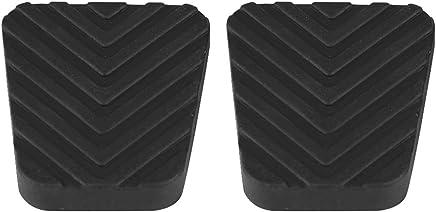 COLOR: negro 2x para Hyundai Accent Getz Elentra Excel Scoupe Freno Embrague Pedal Pad Rubbers