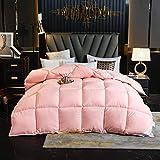 Goodlife-1 4Jahreszeiten Bettdecke Weiße Gänsedaunen-Bettdecke Winter-Bettdecke - Superweiche Bettdecke aus warmen Fasern, warm und gemütlich-D_150x200cm - 3.5kg