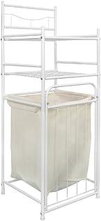 多層ラックランドリーバスケット家庭用大容量汚れた服バスケット取り外し可能な汚れた服ストレージバスケット層状のストレージ、浴室のクリーニングに適した