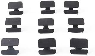 UPSM Hood Insulation Retainer 9 Pcs Fit for Volov C30 C70 S40 V50 XC70 Carpet Insulation Heat Shield Fastener Clips 9182822
