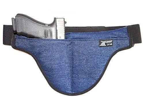 Medium - DTOM Denim Possum Pouch Crotch Carry Holster