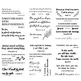 Everjoy Inspirational Christian Quotes Bible Verses Temporary Tattoos