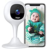 Voger VP230 Baby Monitor Pet WiFi Camera 1080P Two Way Audio Indoor Security Camera with Motion Detection Night Vision, Compatible with Alexa