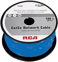 RCA 100-Feet Cat5e Cable - Blue (TPH534BR)