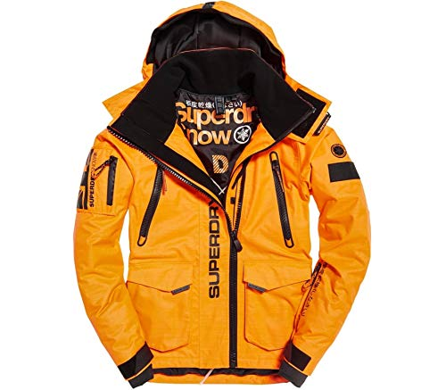 Superdry Veste De Ski Ultimate Snow Rescue Orange