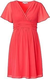 Noppies Damen Umstandsmode Kleid 70459, V-Ausschnitt Comfort Fit Weitere Farben