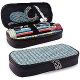 Bleistiftbeutel, Federmäppchen Tasche, Federmäppchen, große Kapazität Bleistiftschlitz Vintage...