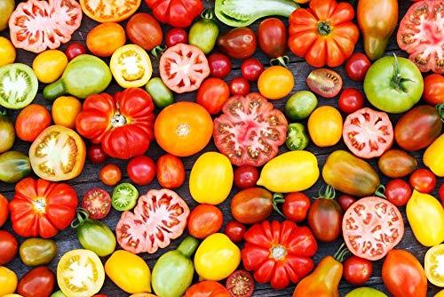 warmwfw Verduras Frescas, Rompecabezas 1000 Piezas para Adultos Juego Educativo Juguete Brain Challenge Rompecabezas para niños Juegos para niños Rompecabezas Familiar Regalo 75*50 cm