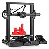 Ender 3 V2 Impresora 3D con placa principal silenciosa mejorada Carborundum Glass Platform MeanWell fuente de alimentación, reanudación de impresión 220 x 220 x 250 mm