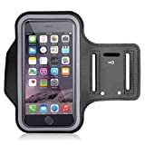 ABADRO Sports Running Jogging Cycling Gym Armband Case Holder for Smartphone, iOS I