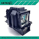 VT75LP Replacement Lamp with Housing for NEC LT380 VT470 VT670 LT280 VT676