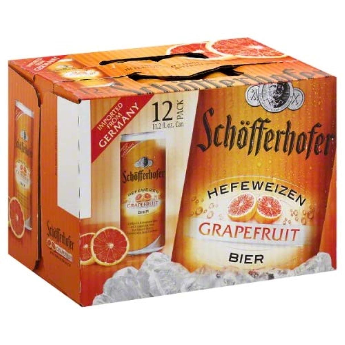 【ドイツ】 シェッファーホッファー グレープフルーツ MIX (発泡酒) 330ml 缶 12本 セット