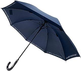 CAFEDIMLY(カフェディムリー)あなたの心を元気にしてくれるアンブレラ 心に響く8つのフレーズでモチベーションUP間違いなし 自己啓発 メンズ傘 ジャンプ傘 ネイビー 親骨65cm 風に強くて丈夫なグラスファイバー製耐風Z骨使用