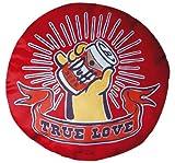 The Simpsons Duff Beer Kissen True Love rundes Duf